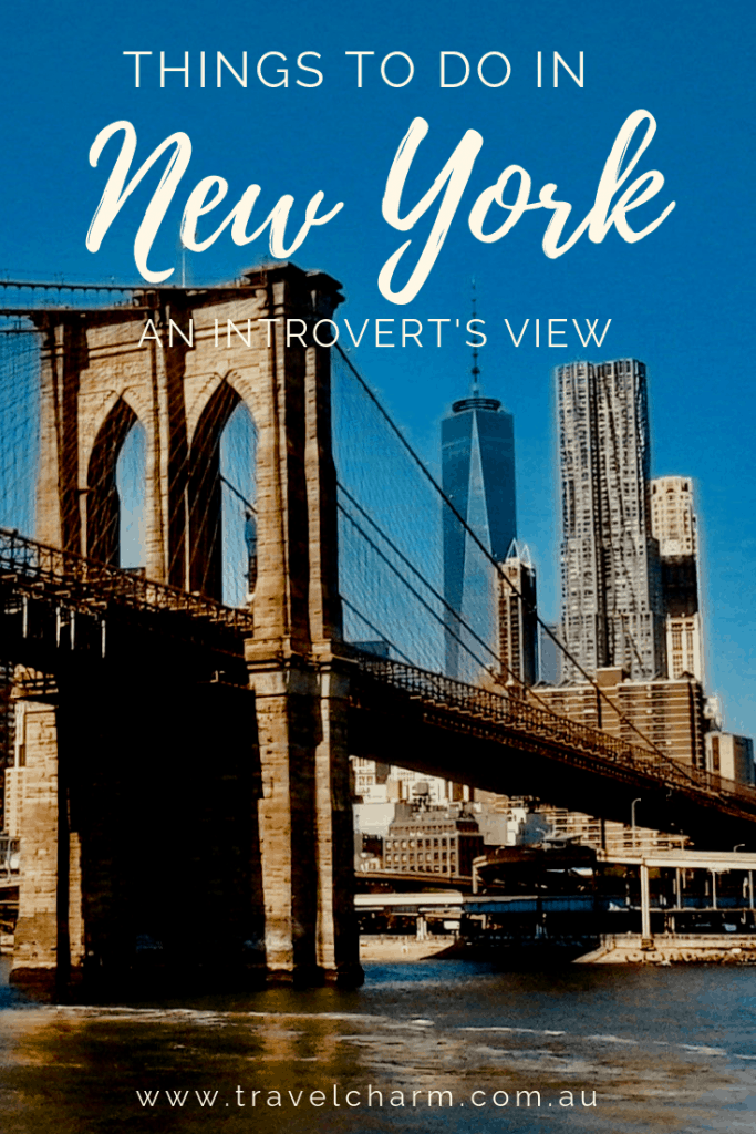 New York City may not seem like an introvert's ideal place to travel but it is full of surprises. #newyork #introvert #newyorkcity