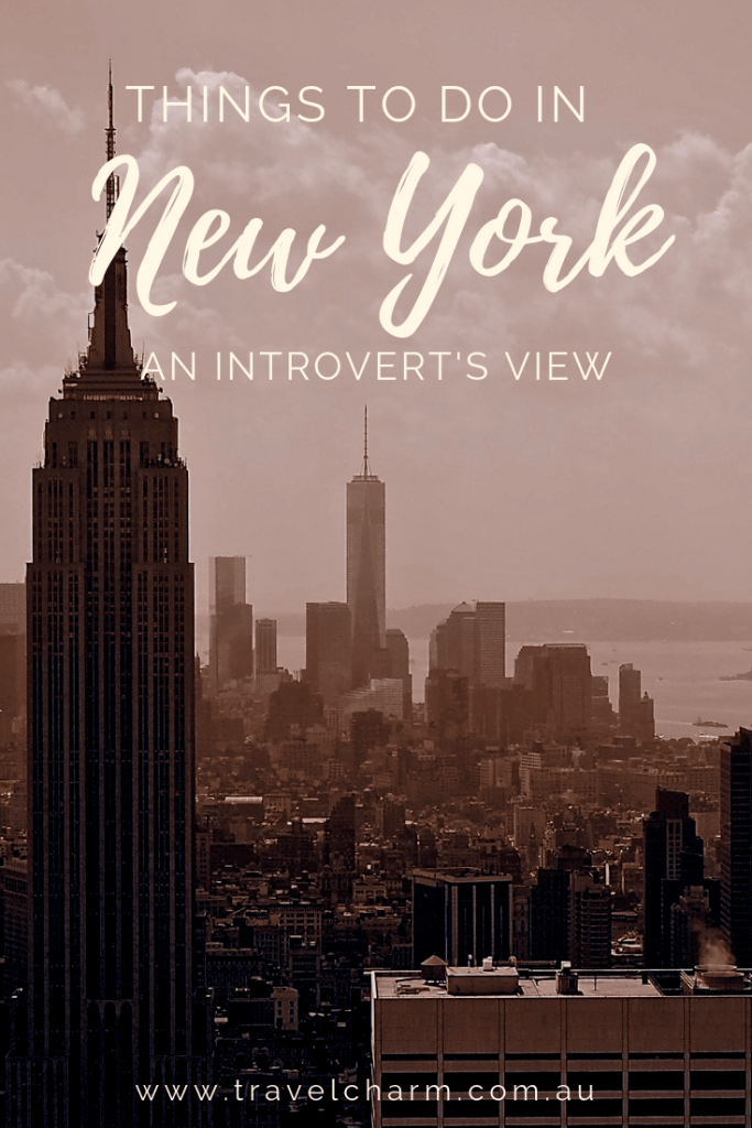 Big, loud & brash, New York City may not seem like a place most introverts would like to visit. #newyorkcity #introvert #newyorknewyork
