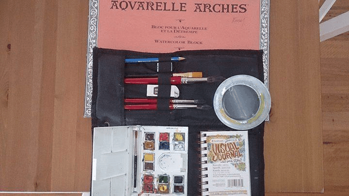 Deciding what Art supplies to take can be difficult, but it doesn't have to be. Here is a guide on what to pack for travel.