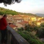 View from Piazza Girabaldi Cortona