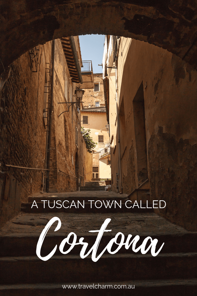 A beautiful town located in Tuscany. The perfect base to explore the Tuscan countryside. #cortona #tuscany #italy