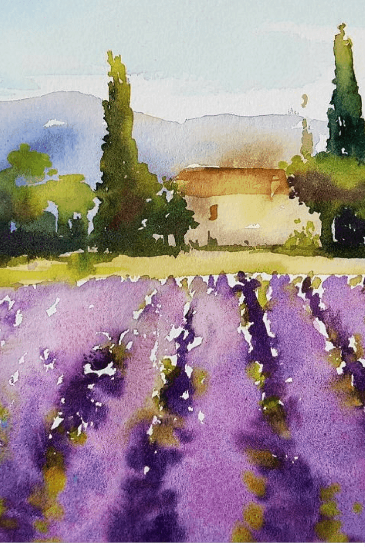 Our upcoming trip in 2018 with artist Kathy Karas to paint in watercolour in Amsterdam, Paris and Provence.