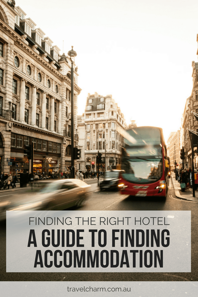 A Guide to Finding the Right Accommodation for you. Hotels are not your only option for great accommodation when you travel.