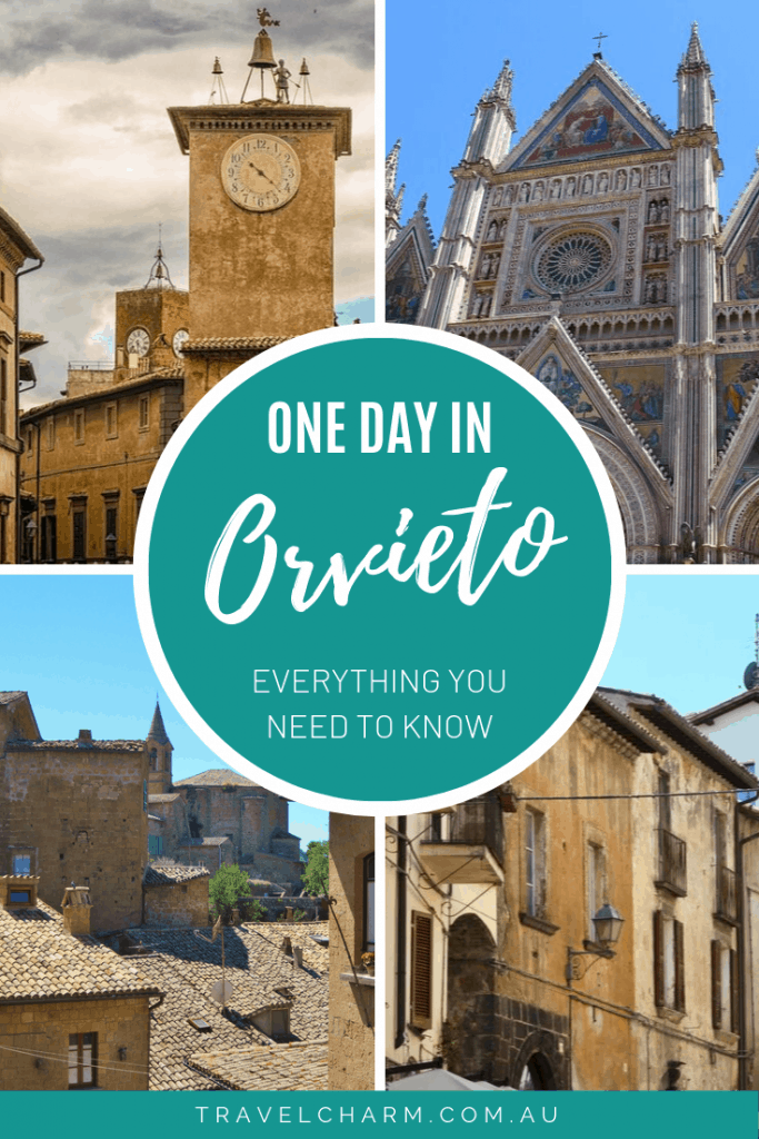 A complete guide for spending a full day in Orvieto, Italy #italy #orvieto