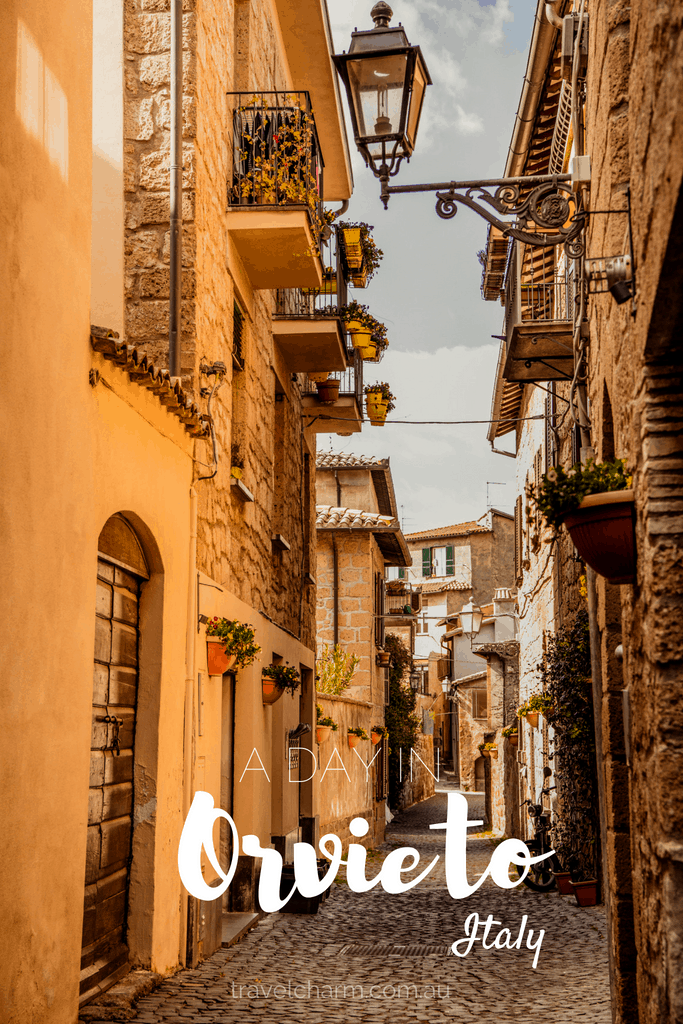 If you only have a day to spend in Orvieto then this itinerary will guide you to the best things to see and do. #orvieto #italy #umbria #hilltoptowns
