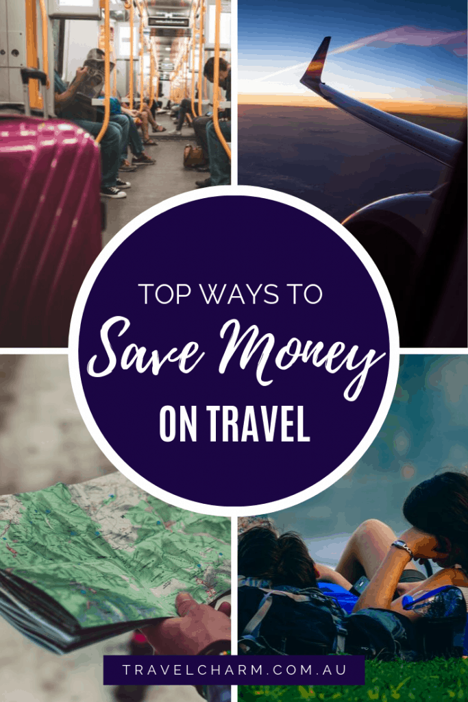 There are many ways to save money on travel. Try these and see how much more you have in your travel budget. #travelbudget #travelmoney #travelcost