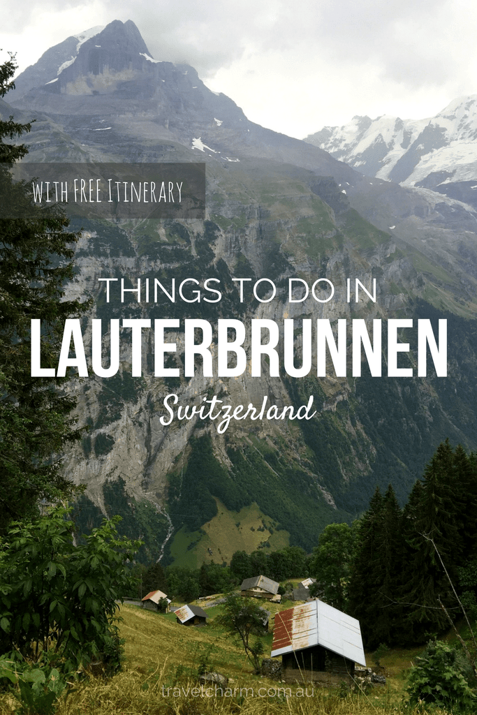 Lauterbrunnen in Switzerland is the valley of 72 waterfalls. Read our guide on what to do when staying in Lauterbrunnen. #switzerland #lauterbrunnen #waterfalls #valley #alps #swissvillage