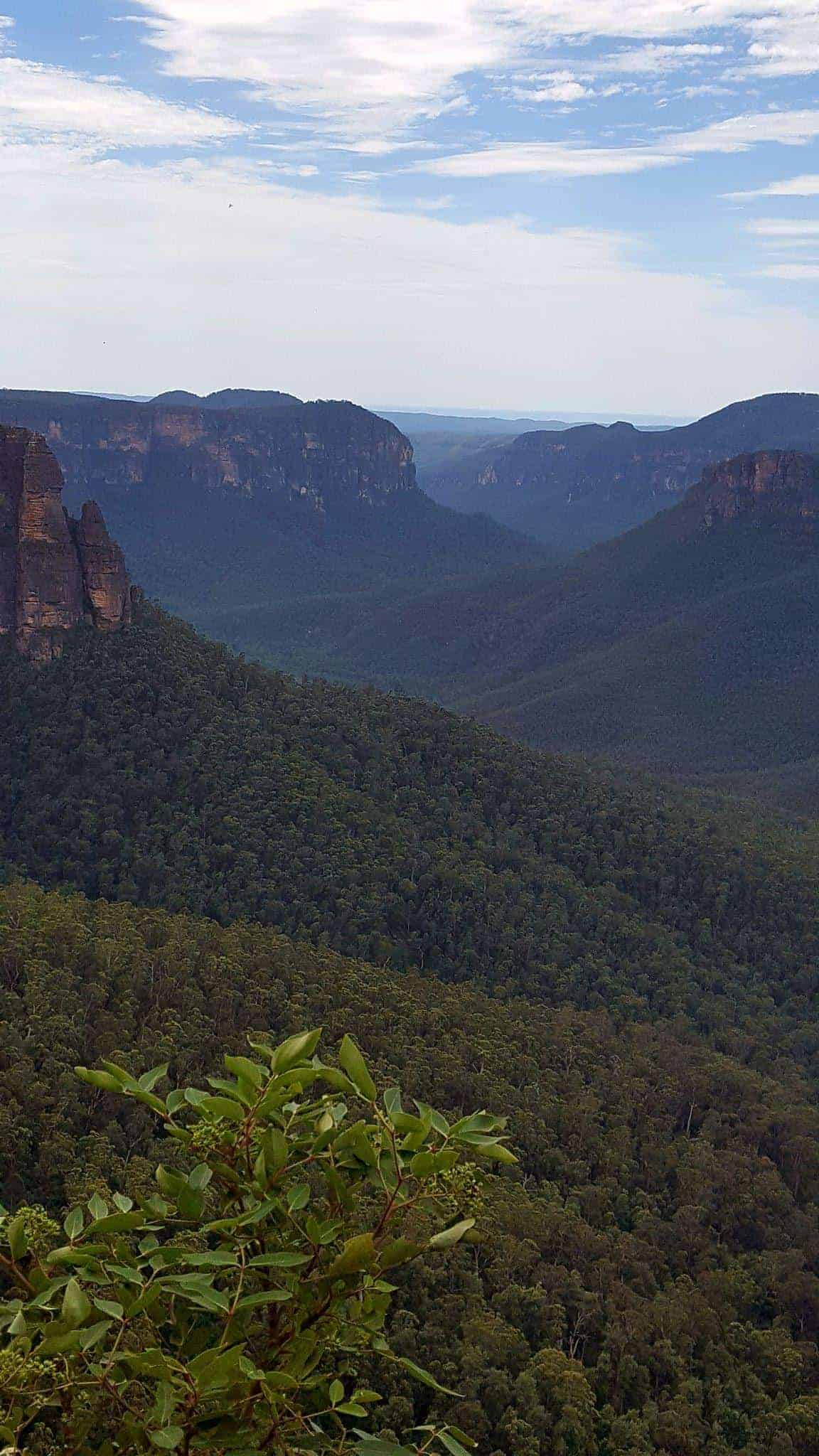 The Blue Mountains, Australia is a place full of inspiration for any artist. The scenery is stunning and the Mountains are filled with beautiful art galleries to explore.