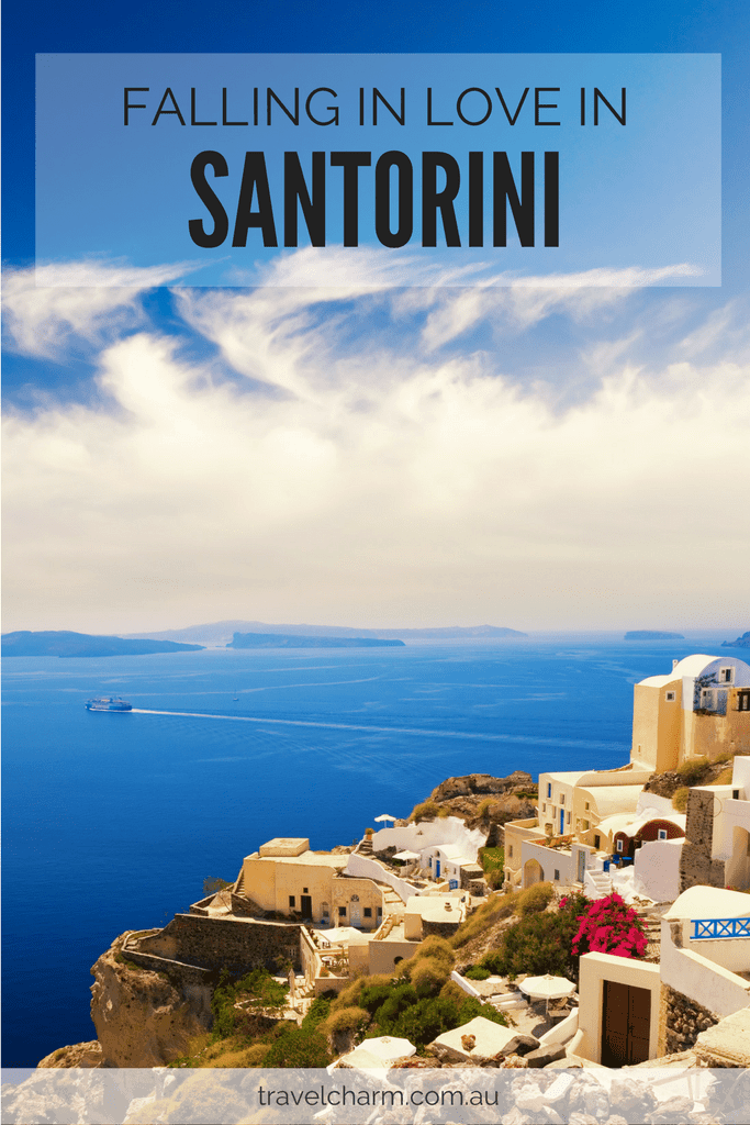 Santorini is a magical place to visit and the perfect place to discover love. And to find the best in yourself.