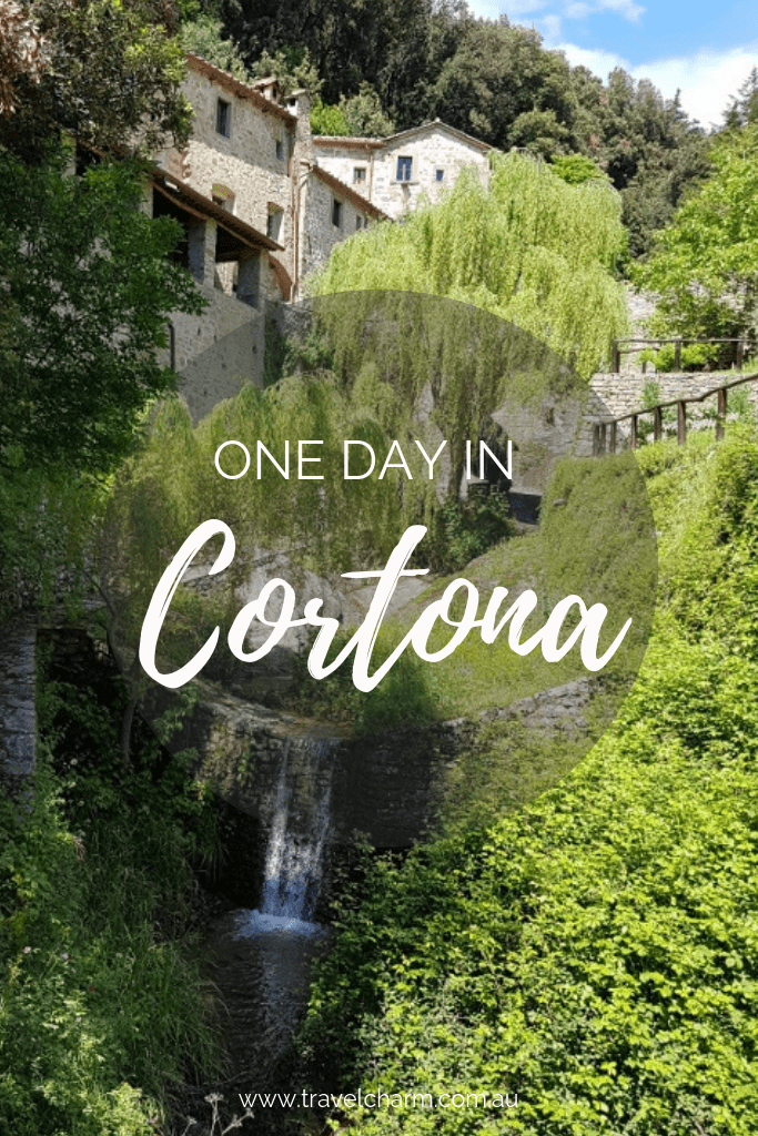 Cortona is a delightful town in Tuscany, perfect to explore in one day. #cortona #italy #tuscany