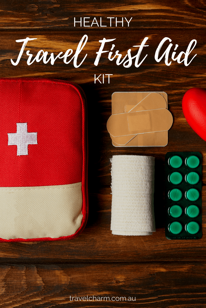 Healthy Products to use in a Travel First Aid Kit that also have multiple uses. Small, versatile and easy to pack. #naturalproducts #healthy #travelfirstaid #firstaid