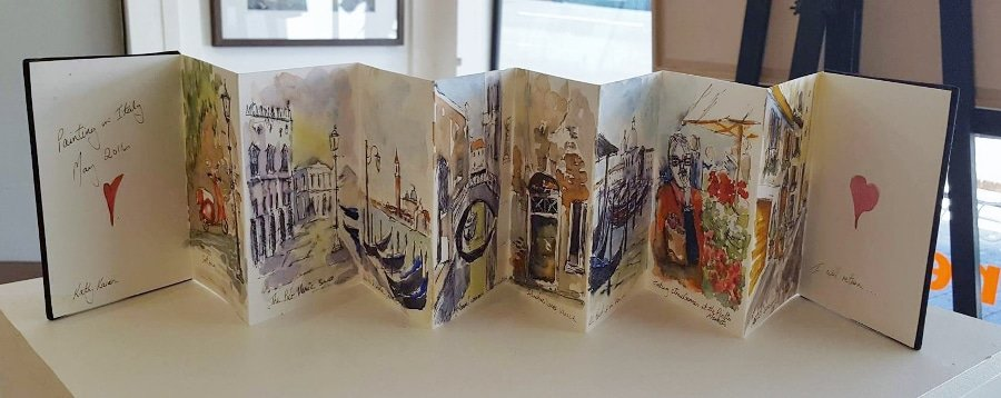 Travel Journals are a great addition to photos from your trip. They are a way to capture personal moments in travel by allowing you to journal as well as getting creative. Paint, cut and paste, draw - the ideas are only limited by your imagination.