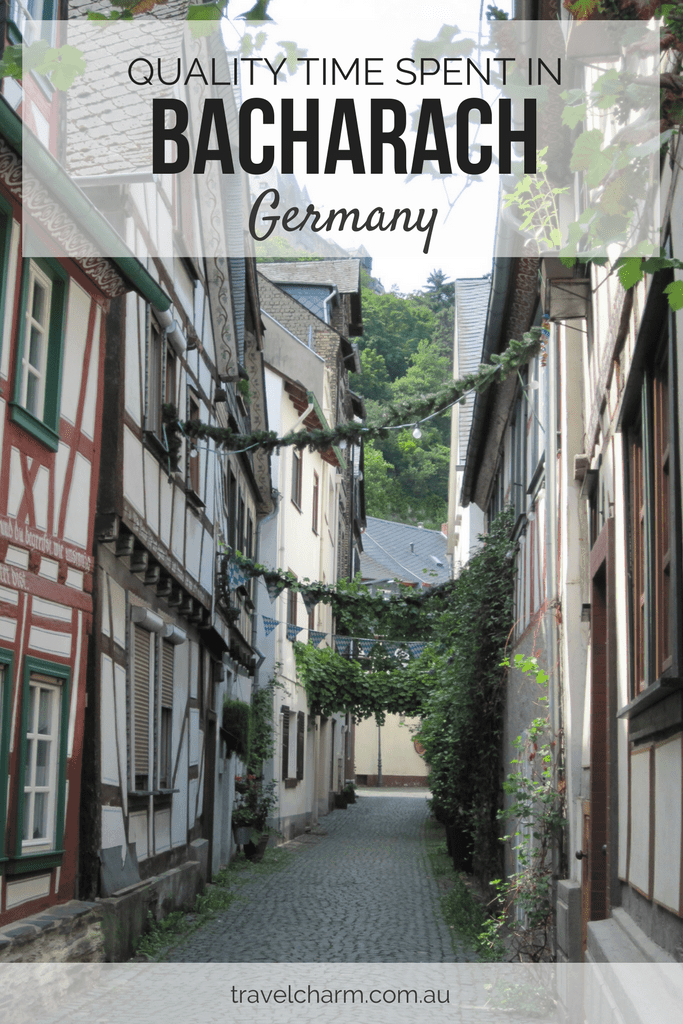 My day spent in Bacharach on the Rhine in Germany. #rhine #germany #medievalvillages