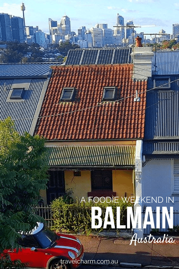 A weekend in Balmain, Australia indulging in food and spending time with family