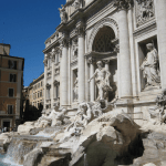 Staying in Campo de Fiora was a great base from which to explore Rome