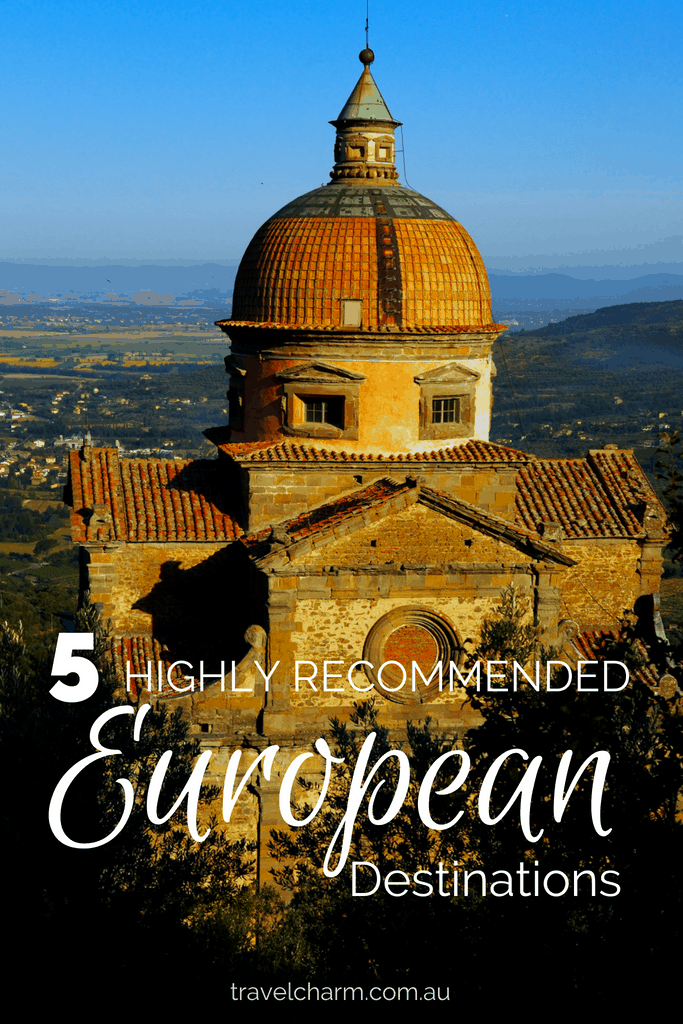 I love most places I visit, but these are my top 5 recommendation on European destinations to see. #europeandestinations #europe #italy #slovenia #greece #switzerland