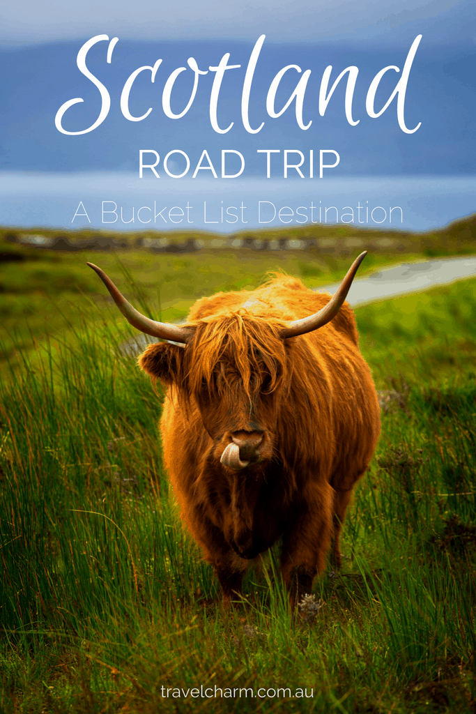 Scotland has long been on my travel bucket list. I plan on doing a Road Trip through Scotland. Here is my proposed plan. #roadtrip #scotland #isleofskye #edinburgh #highlands #scotlandroadtrip