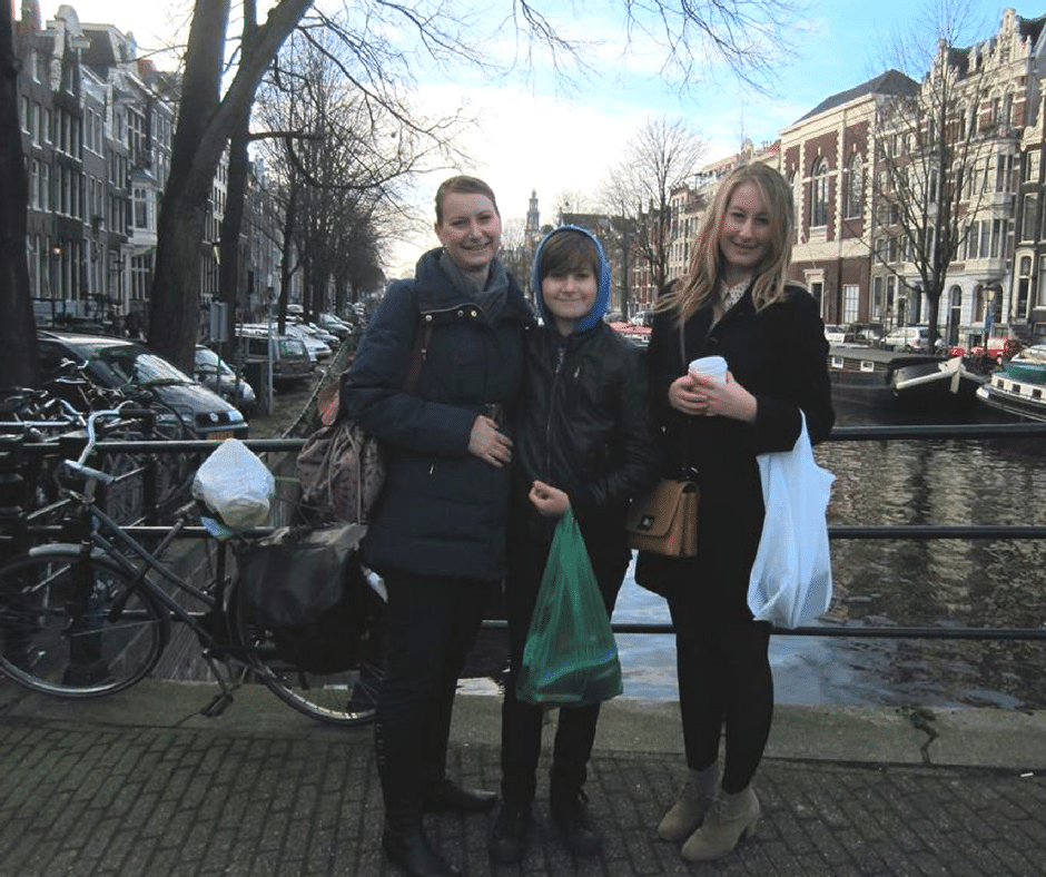 Interesting times spent visiting Amsterdam, Holland. A beautiful city to visit.