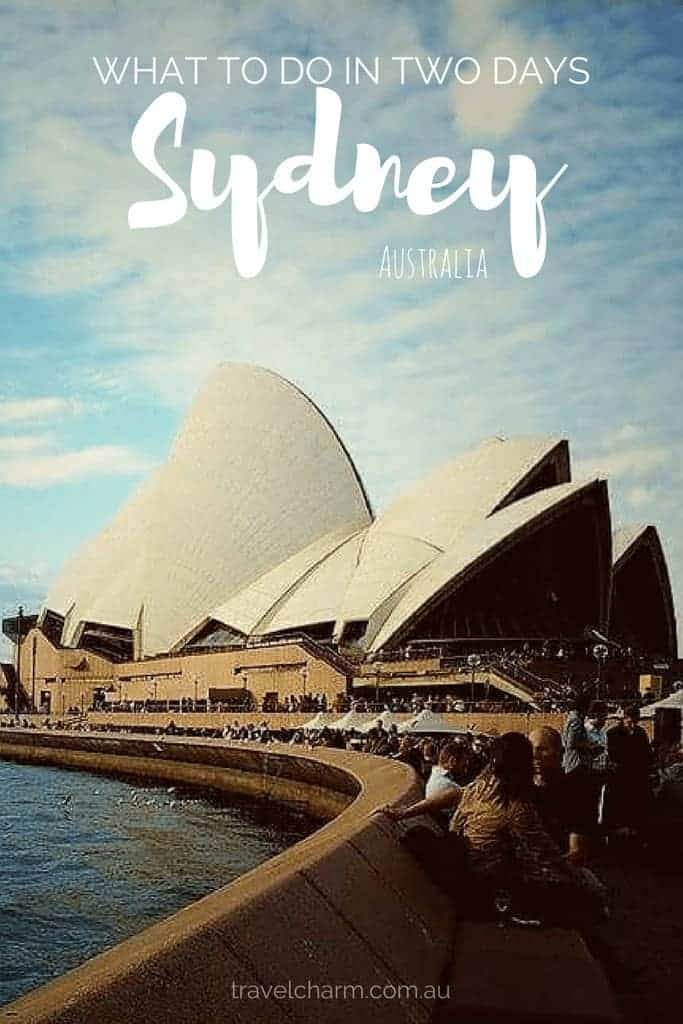 The best of Sydney in two days and more if you have more time. #australia #sydney #nsw #sydneyharbour #operahouse