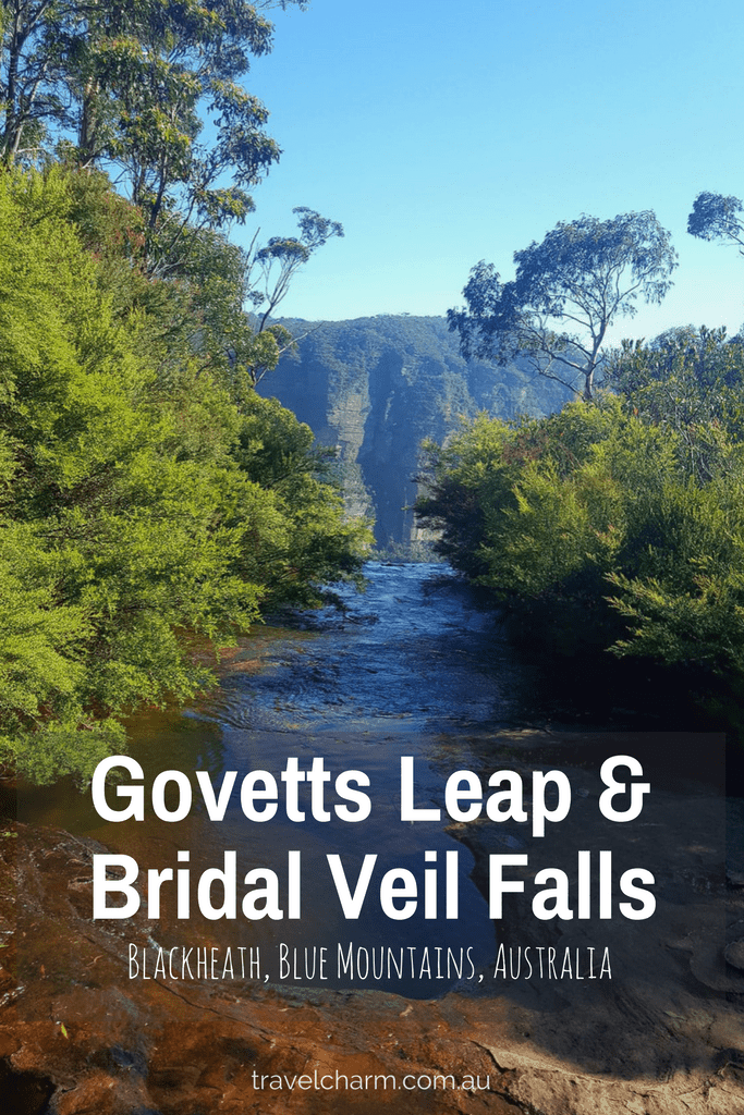 A 15 minute walk from Govetts Leap Lookout to the top of Bridal Veil Falls and up to Barrow Lookout. Stunning views of the Grose Valley, Blue Mountains. #bluemountiansaustralia #australia #bluemountains #govettsleap #waterfall