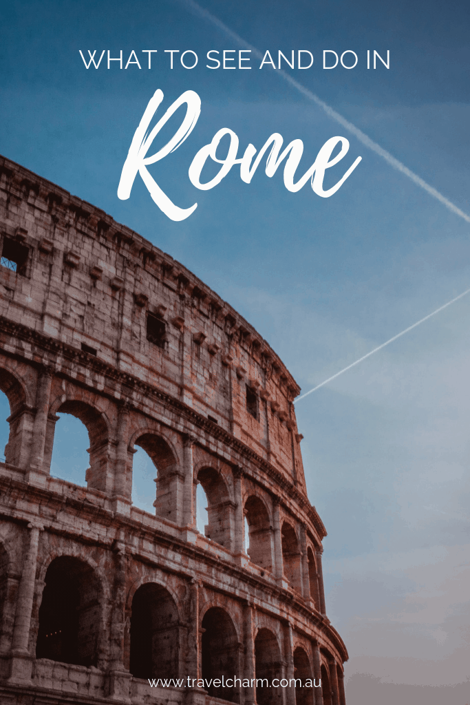 Rome should be included in every Italian itinerary at least once. Experience the diversity of Italy by experiencing Rome. #italy #itinerary #rome