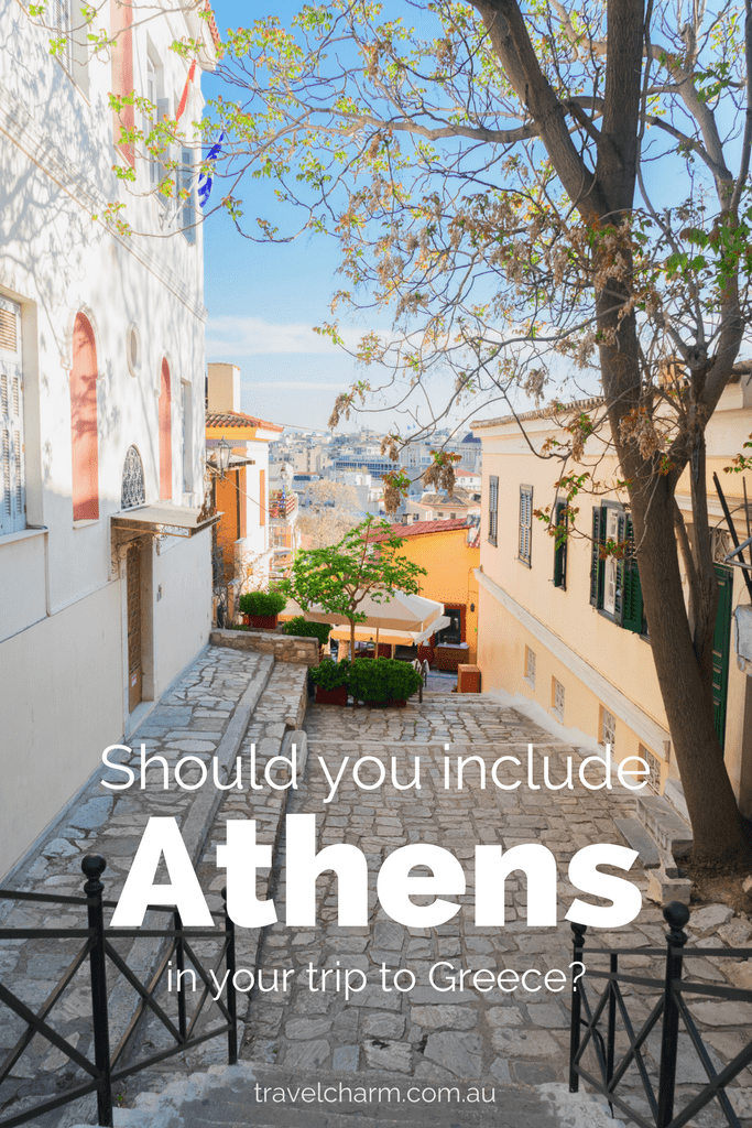 Many people advice you to skip Athens. But should you? I definitely don't think you should and here's why. #athens #greece #greek #parthenon #ancientgreece