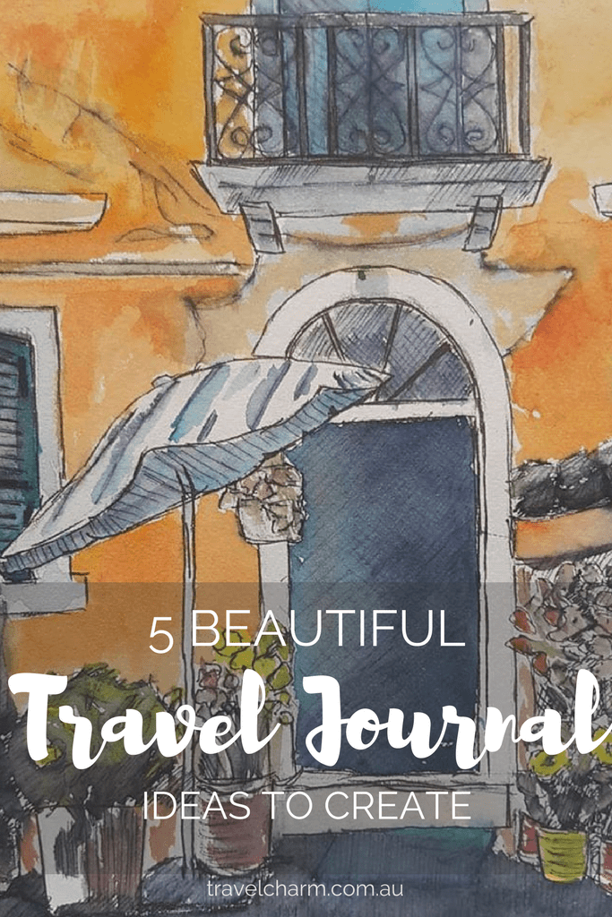 Travel Journals are a great addition to photos from your trip. They are a way to capture personal moments in travel.