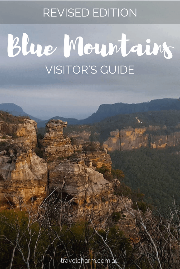 Check out the Revised Edition of the Blue Mountains Visitor's Guide with more information for your trip to Australia and the stunning Blue Mountains. #bluemountains #australia #bluemountainslookouts