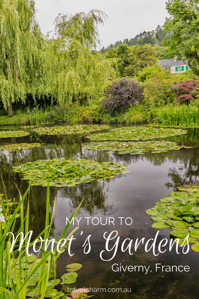 Monet's Gardens are stunning any time of the year. Spend a day visiting Giverny an easy day trip from Paris. #giverny #monetsgardens #monet #france #daytripparis