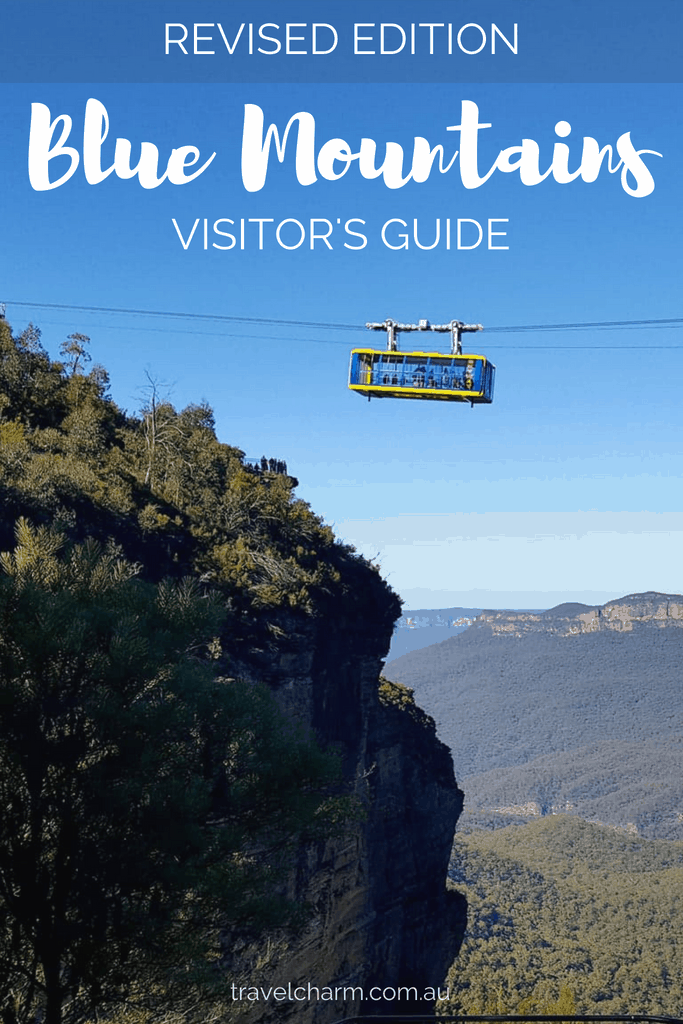 Check out the Revised Edition of the Blue Mountains Visitor's Guide with more information for your trip to Australia and the stunning Blue Mountains. #bluemountains #australia #bluemountainslookouts #leura #blackheath #katoomba #wentworthfalls