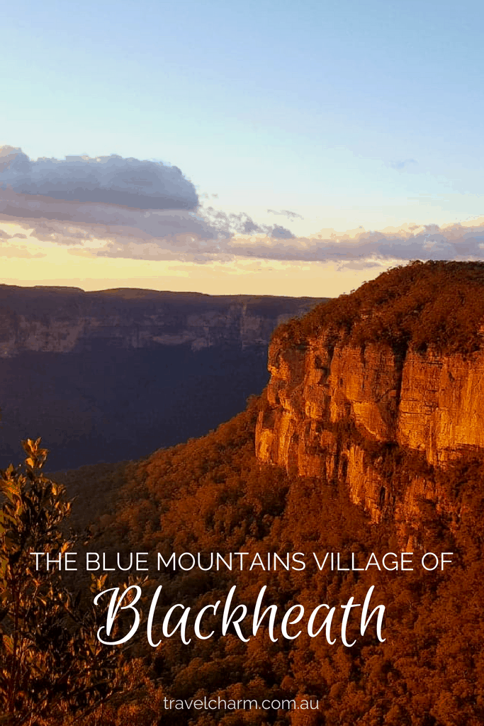 Blackheath has more to offer than a tourist stop on your way through the Blue Mountains. Take time to stroll around the village, interact with locals and enjoy a personal connection. #blackheath #bluemountainsvillage #australia #bluemountains