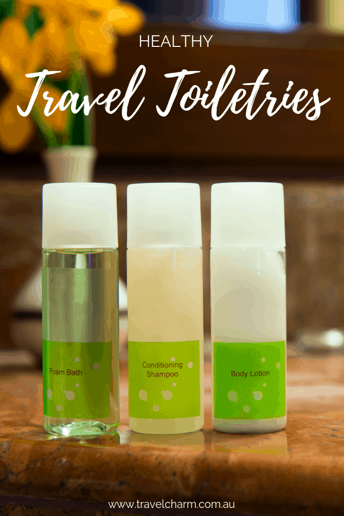 Find out what healthy products are included in my essential travel items #healthyliving #traveltoiletries #toiletries #travelessentials #naturalproducts