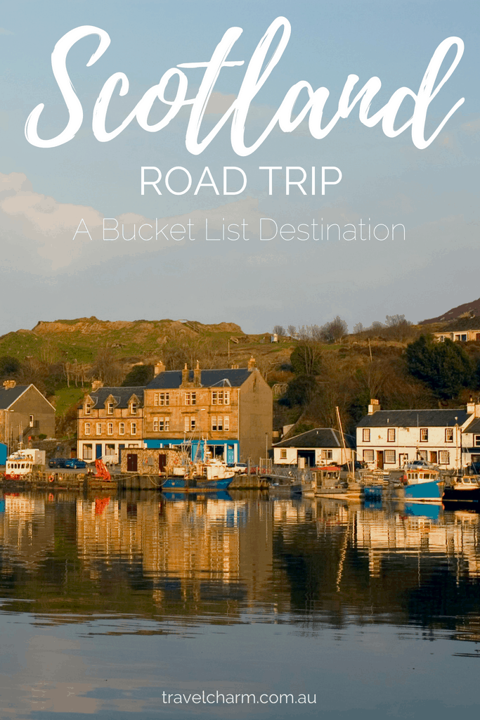 A Road Trip is the perfect way to see Scotland, allowing you to stop along the way, stay as long as you like and get off the beaten tourist track. #roadtrip #scotland #isleofskye #edinburgh #highlands #scotlandroadtrip