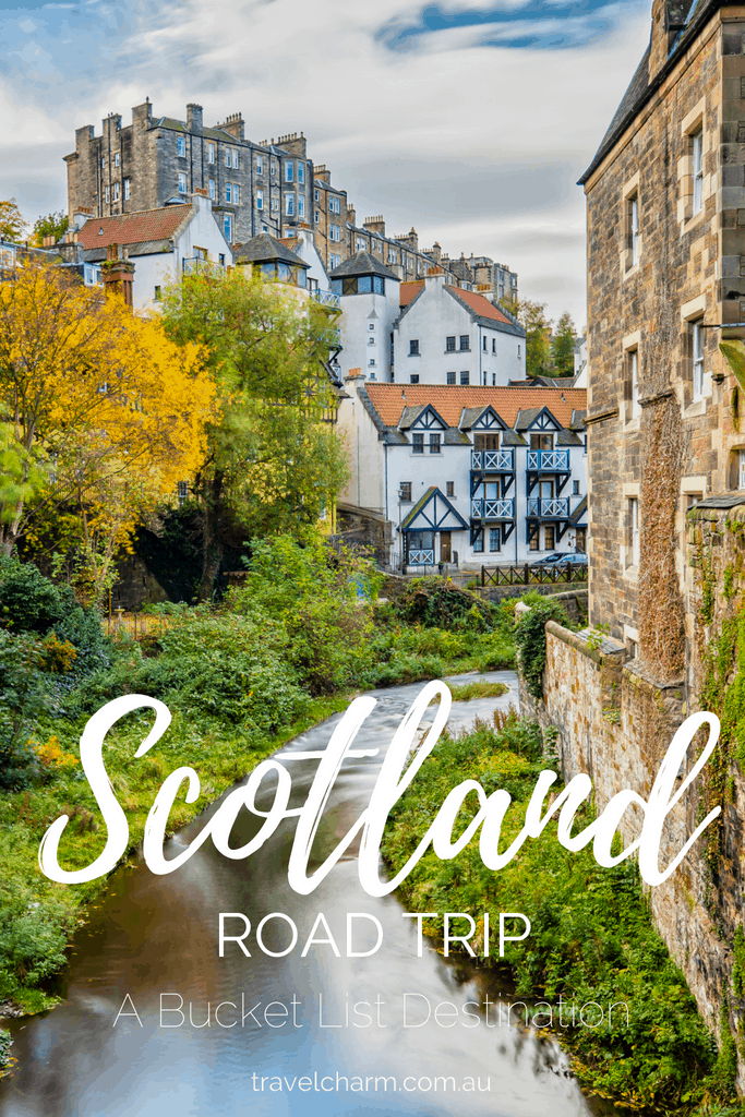 A Road Trip through Scotland is at the top of my bucket list. Here is my proposed plan. #roadtrip #scotland #isleofskye #edinburgh #highlands #scotlandroadtrip
