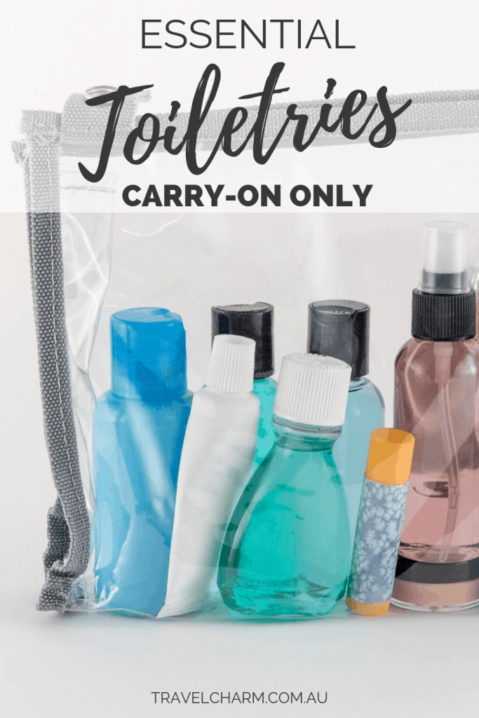 Take a look at the travel toiletries I take that suit carry on luggage only.#traveltoiltries #carryonluggage