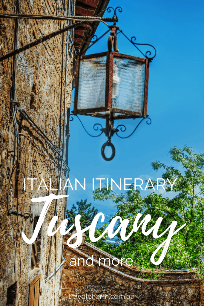 Another trip to Italy and this time including towns in Tuscany and beyond #itinerary #tuscany #italy #italian