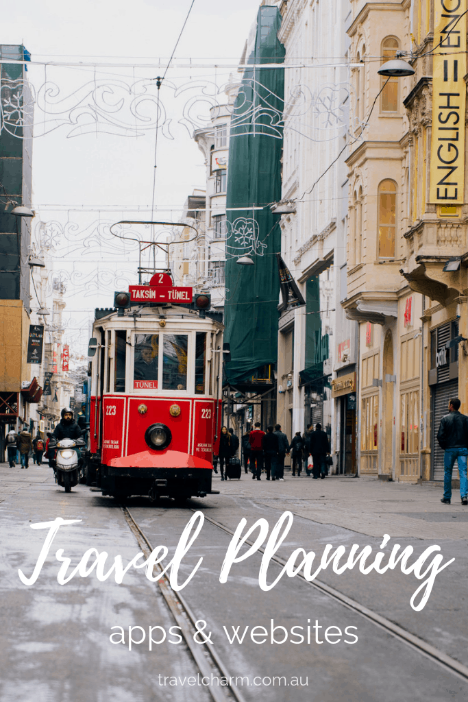 Stop getting overwhelmed planning your next trip by using these apps and websites. Make things a whole lot easier #tripplanning #travelplanning #planningyouritinerary