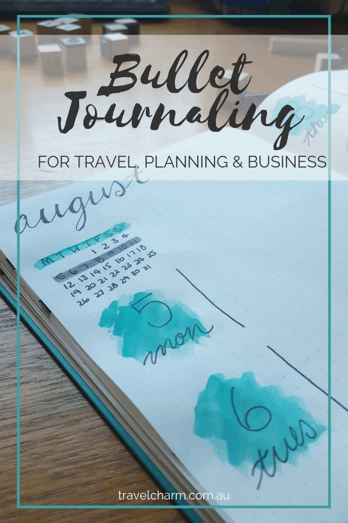 My new obsession. I use Bullet Journaling for business, travel and planning. It's the perfect way to stay inspired and keep organised. #bulletjournal #bujo #journal