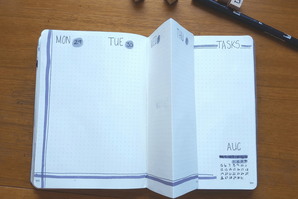 Bullet Journaling has made me more productive in business and organised in travel. #bullejournal #journal #business #traveljournal