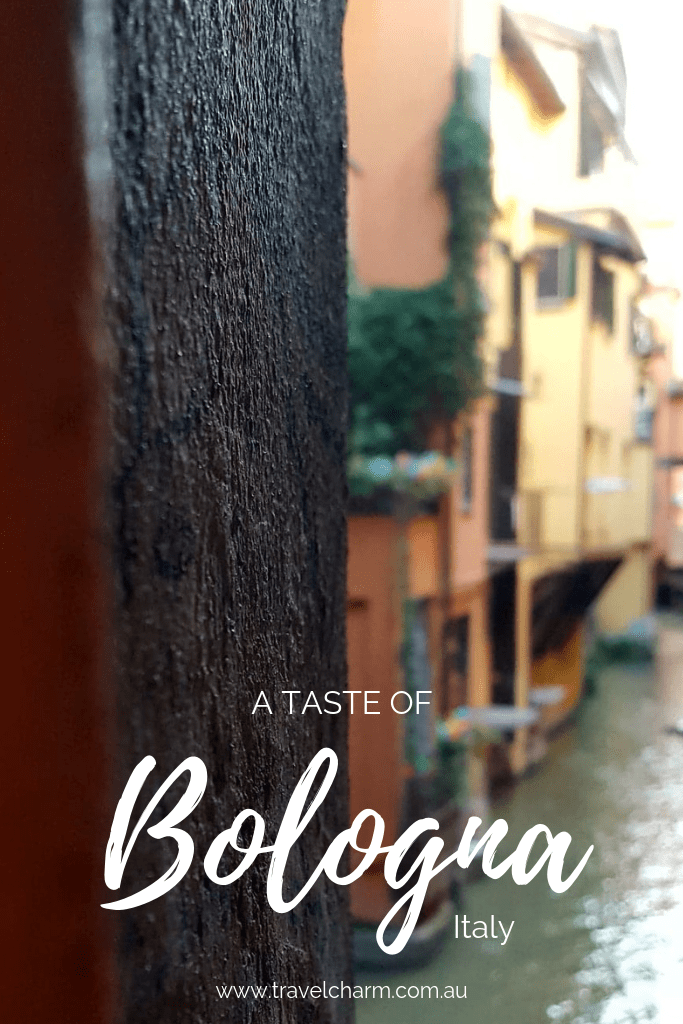 A sneak peek at the delights Bolgona has to offer. #italy #bologna #italianfood