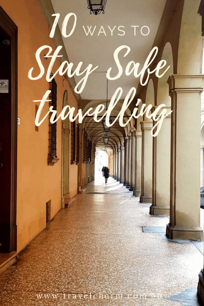 Overcome your nerves and learn how to stay safe when travelling. #safetravel #travellight #stayalert