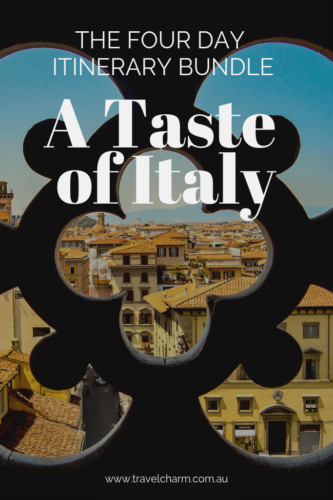 Using Four x Four Day Italian Itineraries to create the perfect 16 day itinerary through Italy - A Taste of Italy #tuscany #florence #cortona #verona #bologna #itinerary #italy