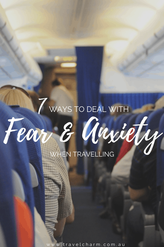 Don't let anxiety and fear get the better of you when travelling #travelanxiety #fear #anxiety #stressfreetravel