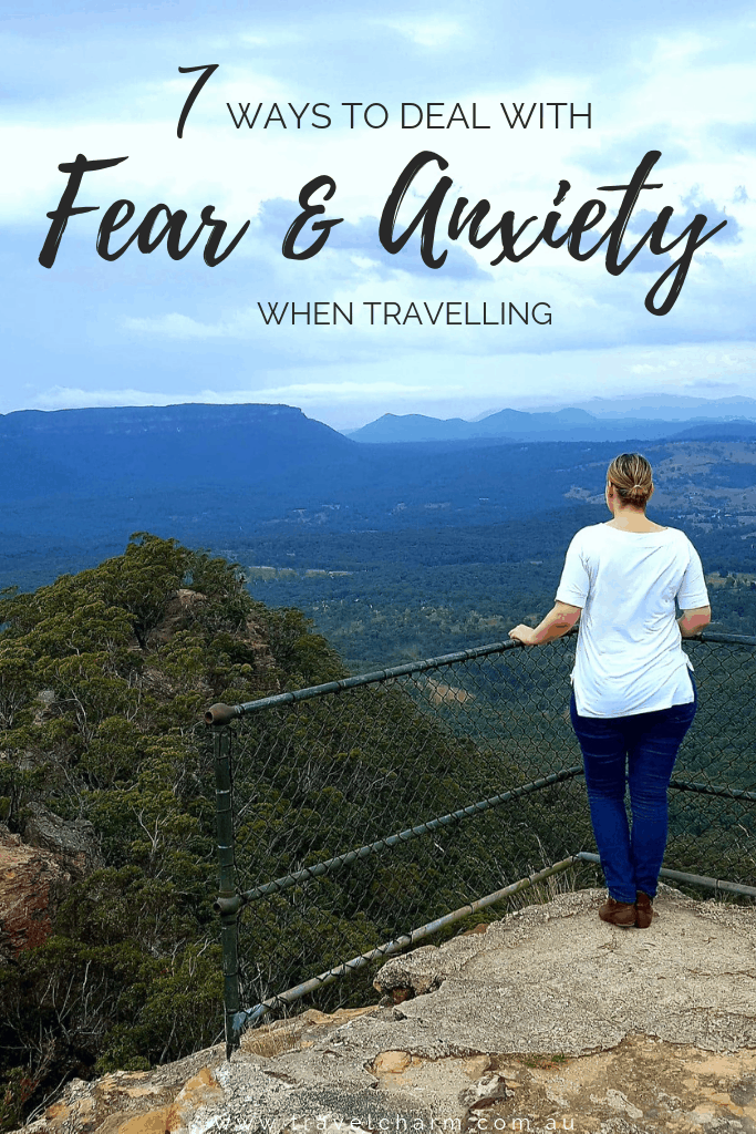 Ways to alleviate fear and anxiety when travelling #travelanxiety #fear #anxiety #stressfreetravel