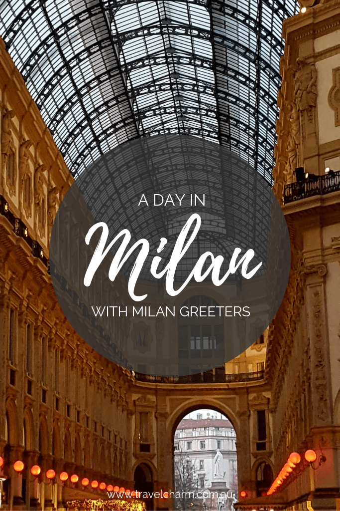 Global Greeters is a fantastic free service. A part of Global Greeters and an awesome way to see Milan. #milano #milan #globalgreeters #freeguide