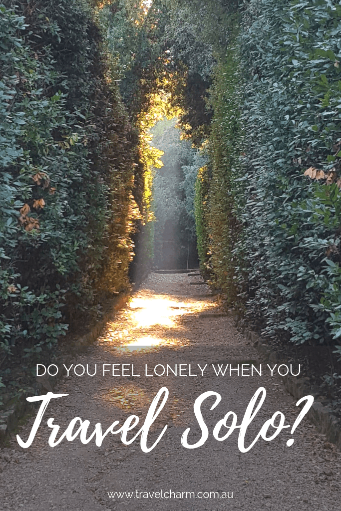 Solo travel and loneliness can go hand in hand. What can you do to make it better. Find out here. #loneliness #solotravel #travelalone #solo