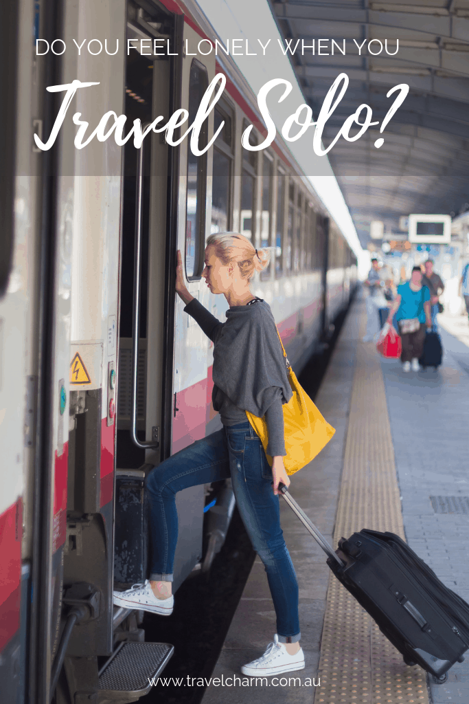 Loneliness can overcome you when you travel solo. Find out what you can do to alleviate it. #loneliness #solotravel #travelalone #solo