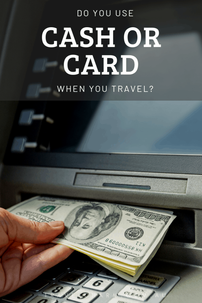 It's hard to know what to do or what is the safest option. #cashorcredit #travelbudget #travelmoney