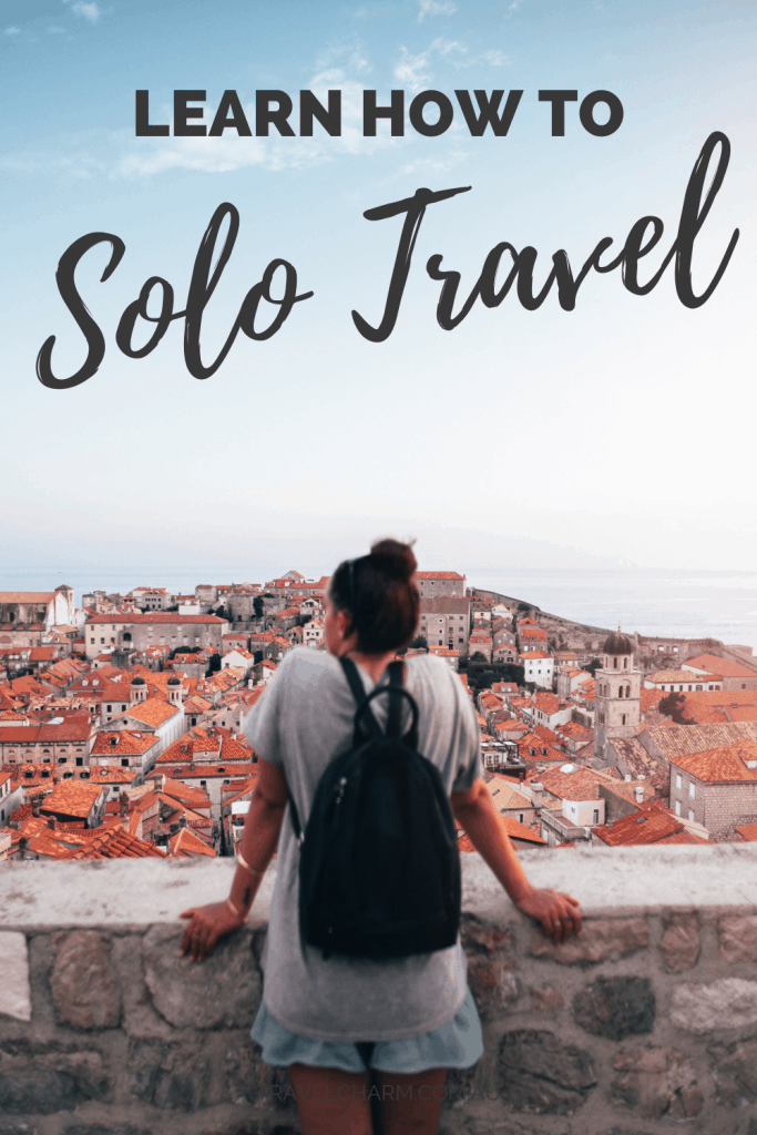 Too scared to solo travel? Now there is a unique program to teach you how and support you through your trip. #solotravel #solotravelprogram