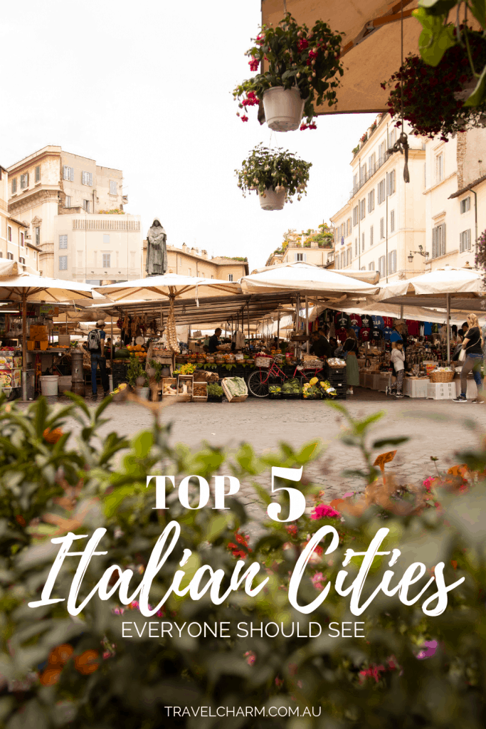 Visit these top Italian cities at least once to experience their unique qualities. #italiancity #italy #itinerary